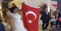 Fırat Kalkanı gazisine nişanlısından düğün sürprizi