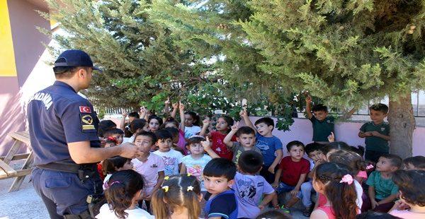 Hassa'da öğrencilere uygulamalı trafik eğitimi