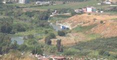 Helikopterle Asi Nehri'nden alınan suyla yangını söndürüldü