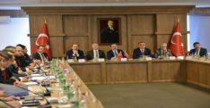 Vali Doğan Suriye Güvenlik Koordinasyon Toplantısına Katıldı