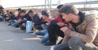 Hatay'da 102 düzensiz göçmen yakalandı