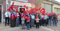 """Gazi ve şehit yakınlarından """"Barış Pınarı""""na destek"""