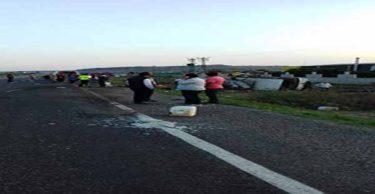Hatay'da trafik kazası: 20 yaralı