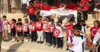 Öğrenciler Mehmetçiğe selamla mektup gönderdi