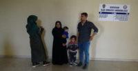 10 kaçak göçmen yakalandı
