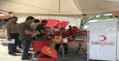 Payas'ta kan bağışı kampanyası