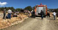 Hatay'da traktör devrildi: 1 ölü, 1 yaralı