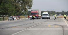 Hatay'da kamyonun çarptığı kişi hayatını kaybetti