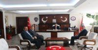 Saadet'ten Emniyet Müdürü Yavuz'a Hayırlı Olsun Ziyareti