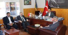 Hatay Saadet'ten Başkan Elmasoğlu'na Ziyaret
