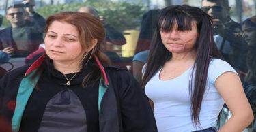 Yüzü asitle yakılan Berfin Özek ilk kez mahkemede