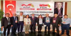 Akdeniz Gazeteciler Federasyonu Genel Kurulu Yapıldı