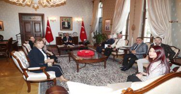DASİFED Başkanı Ekinci'den Vali Doğan'a ziyaret