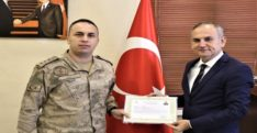 İskenderun'da kolluk kuvvetlerine başarı belgesi