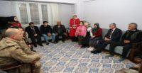 Vali Doğan'dan Şehit Çınar'ın Ailesine Taziye Ziyareti