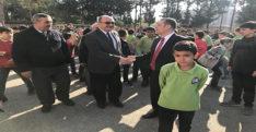Dörtyol Kaymakamı Murat Bulacak, öğrencileri ziyaret etti