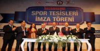 Bakan Kasapoğlu, İskenderun'da Spor Tesisleri Yatırım Prokotokolü'nü imzaladı