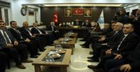 Bakan Kasapoğlu'ndan AK Parti Hatay İl Başkanlığına ziyaret