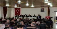 AK Parti Hatay milletvekilleri muhtarlarla buluştu