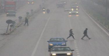Hatay'da yoğun sis, ulaşımı olumsuz etkiledi