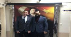 Emrullah Gülen,Ağız ve Diş Sağlığı Hastanesi Başhekimini Ziyaret Etti