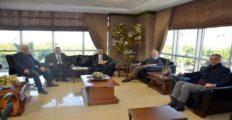 Yapı Kredi Bankası Yetkilileri İTSO'yu ziyaret etti