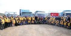 İyilik-Der'den, Türkiye sınırına göç eden Suriyelilere insani yardım