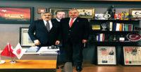 BAŞKAN YILMAZ, MİLLETVEKİLİ YAYMAN'I MAKAMINDA ZİYARET ETTİ