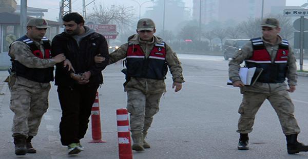 Hatay'da terör operasyonunda yakalanan zanlı tutuklandı