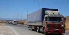 BM'den İdlib'e 21 tırlık insani yardım