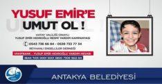 YUSUF EMİR'E UMUT OL !