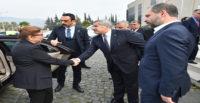 TİCARET BAKANI RUHSAR PEKCAN, YARALI ASKERLERİ ZİYARET ETTİ