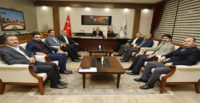BAYRAKDAR,  REKTÖR DERELİ'Yİ ZİYARET ETTİ
