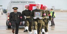 ŞEHİDİMİZ  DÜZENLENEN TÖRENLE MEMLEKETİ GAZİANTEP'E  UĞURLANDI