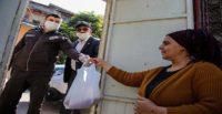 POLİS VE BEKÇİLER YAKLAŞIK 1000 AİLENİN İHTİYACINI KARŞILADI