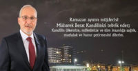 BELEDİYE BAŞKANI FATİH TOSYALI'DAN BERAT KANDİLİ MESAJI
