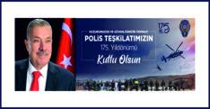 BAŞKAN YILMAZ, POLİS HAFTASINI KUTLADI