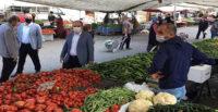 İSKENDERUN'DA ZABITADAN PAZAR YERLERİNE DENETİM