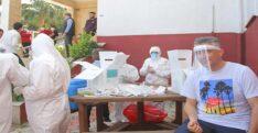 HATAYSPOR'DA FUTBOLCULARA KOVİD-19 TESTİ YAPILDI