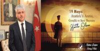VALİ DOĞAN, 19 MAYIS ATATÜRK'Ü ANMA, GENÇLİK VE SPOR BAYRAMI KUTLU OLSUN