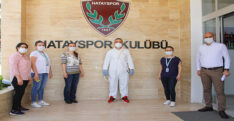 HATAYSPOR'DA İKİNCİ DEFA KOVİD-19 TESTİ YAPILDI