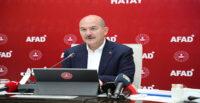 BAKAN SOYLU HATAY'DA İDLİB İNSANİ YARDIM TOPLANTISI YAPTI