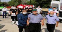 KAHRAMANMARAŞ'TA TRAFİK KAZASINDA HAYATINI KAYBEDEN POLİS MEMURU HATAY'DA TOPRAĞA VERİLDİ