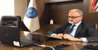 İTSO BAŞKANI AB BÜYÜKELÇİSİ İLE VİDEO KONFERANS PANELİNE KATILDI