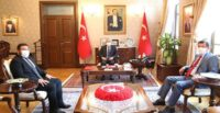 CUMHURBAŞKANI BAŞDANIŞMANI SERTÇELİK'TEN VALİ DOĞAN'A ZİYARET