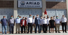 MİLLETVEKİLİ ÖZEL'DEN ARİAD'A ZİYARET