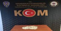 OTOMOBİLDE 1490 UYUŞTURUCU HAP ELE GEÇİRİLDİ