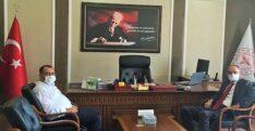 BAŞKAN GÜZEL'DEN İL SAĞLIK MÜDÜR'Ü HAMBOLAT'A ZİYARET