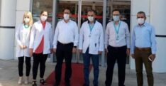 İL SAĞLIK MÜDÜRÜ DR.MUSTAFA HAMBOLAT'IN İLÇE SAĞLIK TESİSLERİ ZİYARETİ