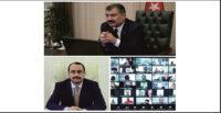 81 İL SAĞLIK MÜDÜRÜ'NE CORONA TEDBİRLERİ TELEKONFERANS'I
